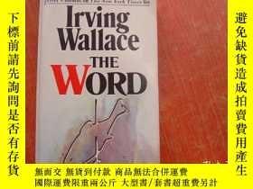 二手書博民逛書店LRVING罕見WAllACE THE WORDY9890 出版