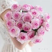 保濕仿真飾花干花客廳餐桌擺件裝飾擺設仿真花假花 QW5856『夢幻家居』