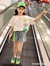 女童短袖T恤夏裝2020新款韓版中大童洋氣薄款半袖兒童夏季體恤潮