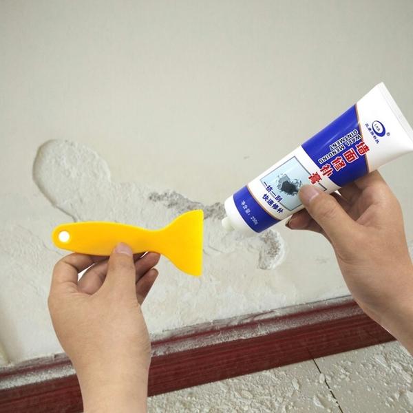 【牆面修補膏】居家用牆壁補牆膏 防水修補劑 牆面破損裂開畫痕釘眼裂縫坑洞快速修復