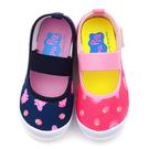 童鞋城堡-佩佩豬 中童 草莓造型休閒室內...