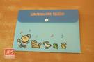 Minna no Tabo 大寶  B6資料袋 收納袋 藍 KRT-215594