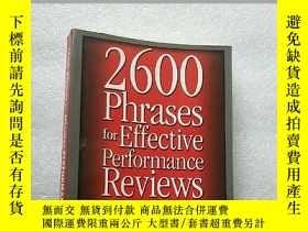 二手書博民逛書店2600罕見Phrases for Effective Perf