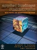 二手書博民逛書店《Applied Business Research: Qualitative and Quantitative Methods》 R2Y ISBN:0471341266