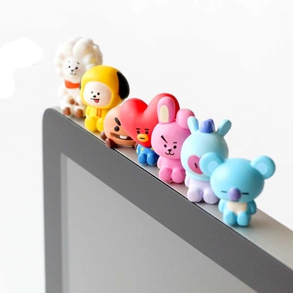 BT21 Line Friends 電腦螢幕公仔 小公仔 桌面擺設 日本官方正版 現貨