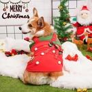 婉蔓柯基 可愛圣誕小背心新年背心柯基衣服款保暖狗狗寵物 快速出貨