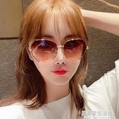2020年新款女士時尚墨鏡韓版潮防紫外線偏光太陽眼鏡圓臉大臉顯瘦  聖誕節免運