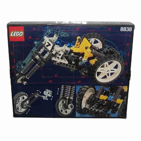 LEGO 樂高 Technic系列 SHOCK CYCLE Motorcycle Set 越野摩托車 8838