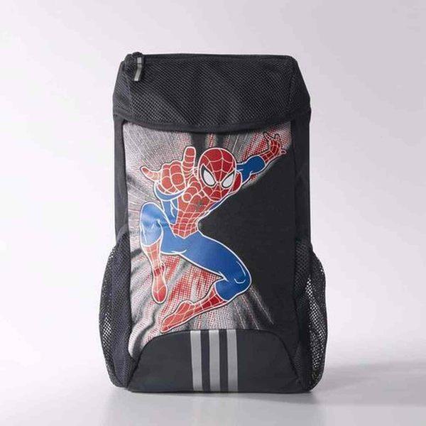 ADIDAS Ranac MARVEL LK BP S Spider Man 背包 蜘蛛人 黑 【運動世界】 M66485