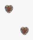 時尚 極簡風 心型耳環 FOREVER21   B228  / 一對199元 情人節禮物【Vogues唯格思】