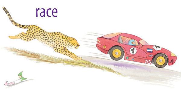 【幼兒硬頁書:交通工具.動詞】ANIMACHINES /硬頁書