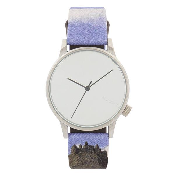 KOMONO X Magritte Winston系列聯名腕錶-比利牛斯山的城堡/41mm