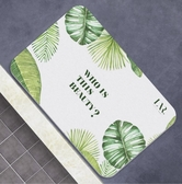 百年羚硅藻泥腳墊浴室防滑墊衛生間門地墊硅藻土吸水速干衛浴墊子