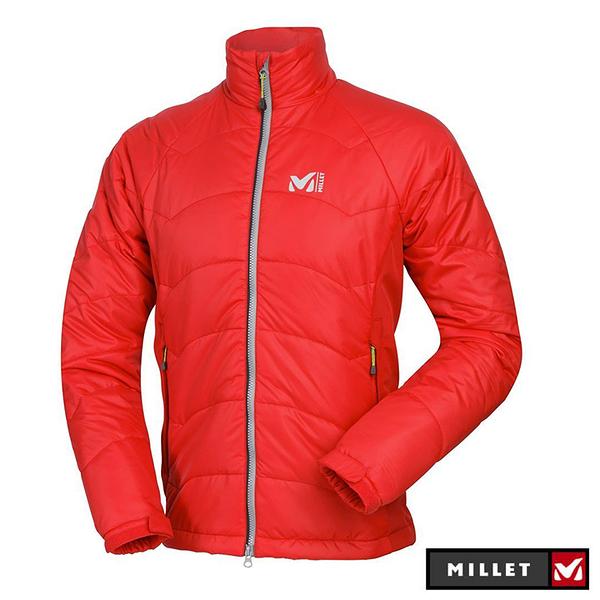 丹大戶外【MILLET】COMPOSITE PRIMALOFT JKT 法國 男款輕量保暖夾克 MIV4801 紅
