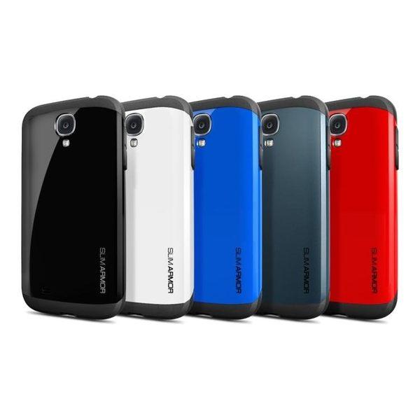 【米創3C】Spigen 韓國 SGP 三星 Galaxy S4 i9500 Slim ARMOR 雙層護盾保護殼 手機殼 (含三個原廠按鍵貼)