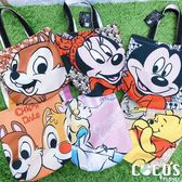 正版 迪士尼系列 手提袋 收納袋 便當袋 餐袋 購物袋 托特包 COCOS DK280