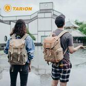 德國tarion攝影包相機背包雙肩國家地理單反牛皮帆布佳能專業復古【快速出貨】