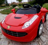 新兒童電動車四輪帶遙控搖擺汽車可坐人寶寶小孩兒童電瓶充電童車【快速出貨八折特惠】