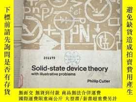 二手書博民逛書店solid-state罕見device theory(P2713)Y173412