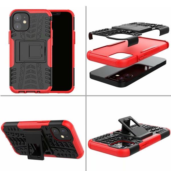 蘋果 iPhone 12 Pro Max 12Pro 12Max 手機殼 輪胎紋 防摔 全包邊 內軟殼 TPU 外硬殼 PC 保護殼