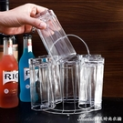 杯架杯架不銹鋼水杯架子置物架玻璃杯倒掛架奶瓶瀝水架六頭茶杯收納 快速出貨