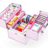藥箱急救箱家庭醫用箱多層全套微整工具箱出診家用藥品收納醫藥箱WY