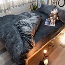 暖暖(加大)法蘭絨床包+雙人被套四件組 溫暖過冬 台灣製