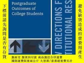 二手書博民逛書店Postgraduate罕見Outcomes of College Students: New Direction