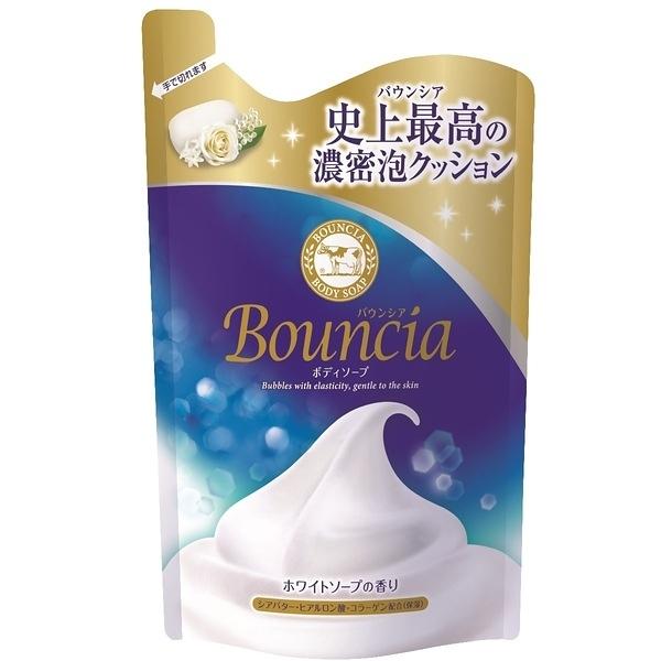 牛乳石鹼美肌滋潤沐浴乳補充包(優雅花香)400ml【康是美】