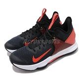 【六折特賣】Nike 籃球鞋 LeBron Witness IV EP 黑 橘 男鞋 運動鞋 【ACS】 CD0188-003