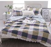 韓版夏被四件套水洗空調被四件套夏季床單枕套薄被子夏涼被WY
