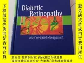 二手書博民逛書店Diabetic罕見Retinopathy: Evidence-