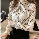 ZUCAS~(XA-2617)長袖雪紡襯衫寬鬆顯瘦長袖襯衫