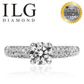 【ILG鑽】Odeurs 皇室氣息 0.75克拉-頂級美國ILG鑽飾,媲美真鑽亮度的鑽飾 RiP31