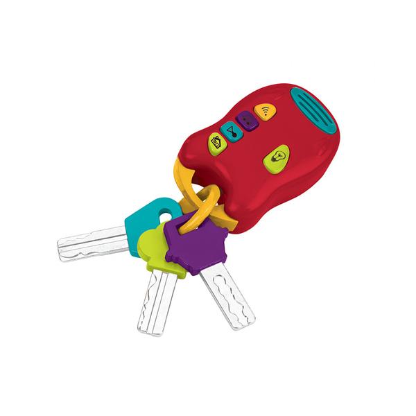 《 美國 B.toys 感統玩具 》Battat系列 - 熱情的鑰匙 ╭★ JOYBUS玩具百貨