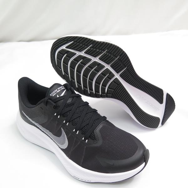 NIKE AIR ZOOM WINFLO 8 運動鞋 女款 慢跑鞋 CW3421005 黑【iSport愛運動】