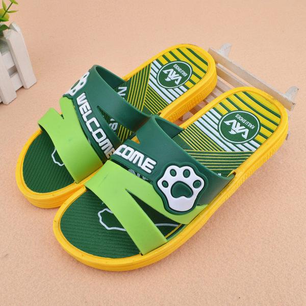 夏7-15歲大男孩拖鞋居家防滑軟塑膠涼拖鞋