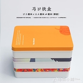 2個裝 聚平凡大鐵盒原創手繪清新簡約馬口鐵盒半島鐵盒收納禮品輕微瑕疵 秋季新品