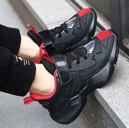 兒童鞋 男童鞋子2021新款春款皮面運動鞋冬季小孩加絨保暖中大童兒童鞋【快速出貨八折鉅惠】