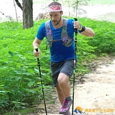 登山杖碳纖維折疊杖超輕伸縮可折疊碳素徒步手杖【勇敢者戶外】