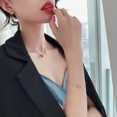 生日禮物 手鍊金屬螺旋圈時尚百搭手環氣質2020手鐲 情人節禮物