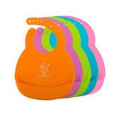 硅膠嬰兒寶寶圍兜兒童防水立體飯兜