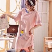 櫻桃冰淇淋100%棉睡衣洋裝
