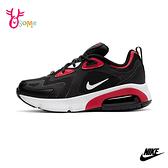 NIKE AIR MAX 200 大童成人女款 運動鞋休閒鞋 P7243#黑紅◆OSOME奧森鞋業