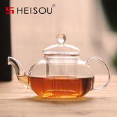 茶壺玻璃茶壺過濾玻璃壺泡茶壺過濾玻璃茶壺耐高溫 【店慶8折促銷】