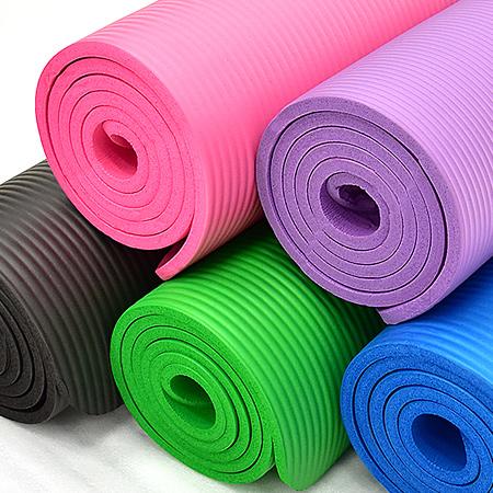 10MM加厚NBR瑜珈墊(送束帶)止滑墊防滑墊運動墊遊戲墊野餐墊防潮墊子地墊床墊睡墊吸震避震墊