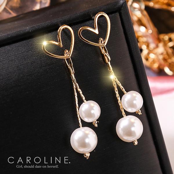 《Caroline》★韓國熱賣造型時尚  甜美.自然.氣質耳環71230