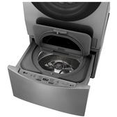 LG 不鏽鋼色,下層2KG洗衣機WT-D200HV