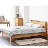 源氏木語鹿特丹橡木低床架 雙人 1.5M B3707