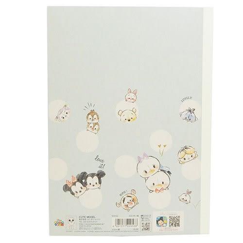 DISNEY TSUM TSUM B5平裝筆記本(素描手繪)★funbox★KAMIO_KM09956